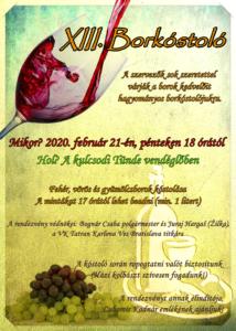 Meghívó - Borkóstoló // Pozvánka - Ochutnávka vín 1